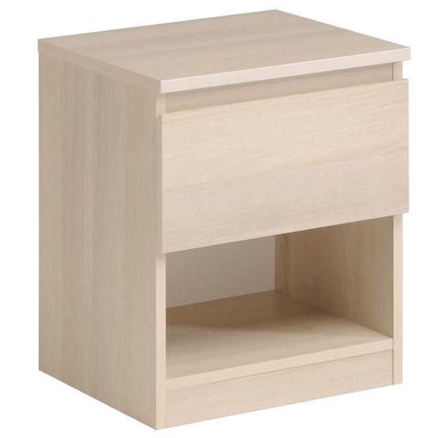 Comforium Table De Chevet Moderne Coloris Beige C Julienne Pas