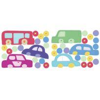 MARQUE GENERIQUE - Stickers chambre bébé En voiture