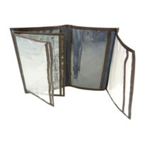 Chaussmaro - Pochette de protection, Etui Porte carte grise, assurance, permis en croute de cuir