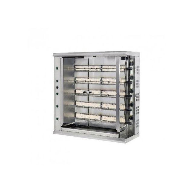 Furnotel Rôtissoire Professionnelle gaz de marché grande capacité - 30 poulets