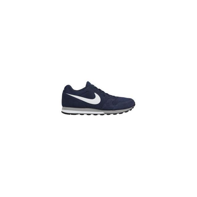 Nike Chaussures Md Runner 2 bleu marine blanc pas cher Achat