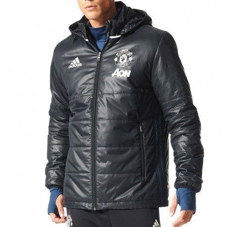 f5ab1afee358 Adidas originals - Doudoune Manchester United Noir Football Homme Adidas