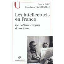 Armand Colin - Les intellectuels en france