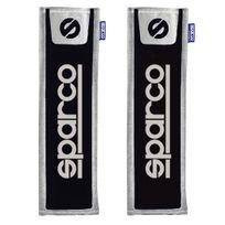 Spc - Opc12120001 - 2 fourreaux de ceinture noirs Sparco