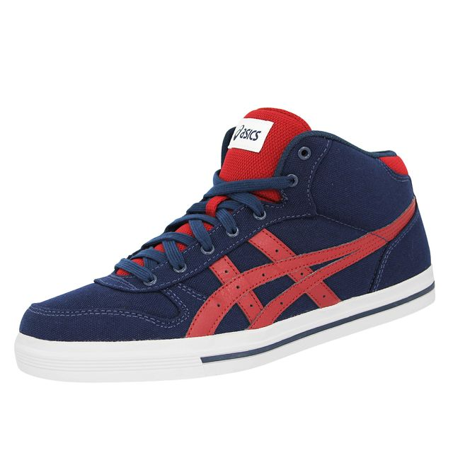 Asics Aaron Mt Chaussures Mode Sneakers Homme Cuir Suede