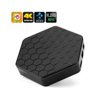 Auto-hightech - Smart box tv Amlogic S912 Cpu, 2 Go de Ram, 4K, Android 6.0, Kodi 16.1, Dual Band Wi-Fi, Spdif, Airplay, Dlna, Miracast