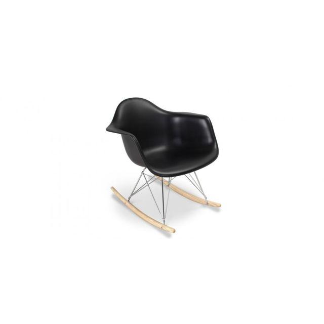 Privatefloor - Chaise à bascule Balance - Polypropylène Matt Taupe