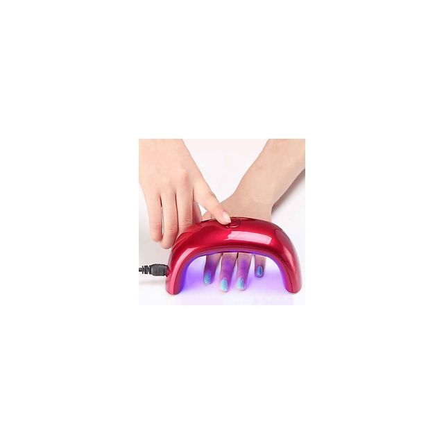 Alpexe 9w Sechoirs A Ongles Lampe Uv Lampe A Led Vernis Gel Uv