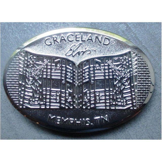 Universel - Boucle de ceinture elvis presley portail graceland usa rock -  pas cher Achat   Vente Objets déco - RueDuCommerce 729eb4871cd
