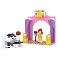 Sluban Europe - Jeu De Construction - Nouvelle Serie Girl'S Dream - La Salle De Concert - Sluban M38-B0521