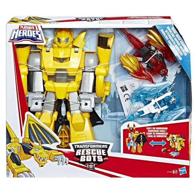 TRANSFORMERS ROBOT TANGO BUMBLEBEE 25CM - C1122EU40 Retrouve tes héros préférés issus du film Transformers ! Amuse toi avec leurs transformations magiques et passe du mode robot à véhicule en un clin d'œil !