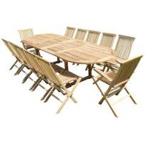 Ensembles tables et chaises Teck\'line - Achat Ensembles ...