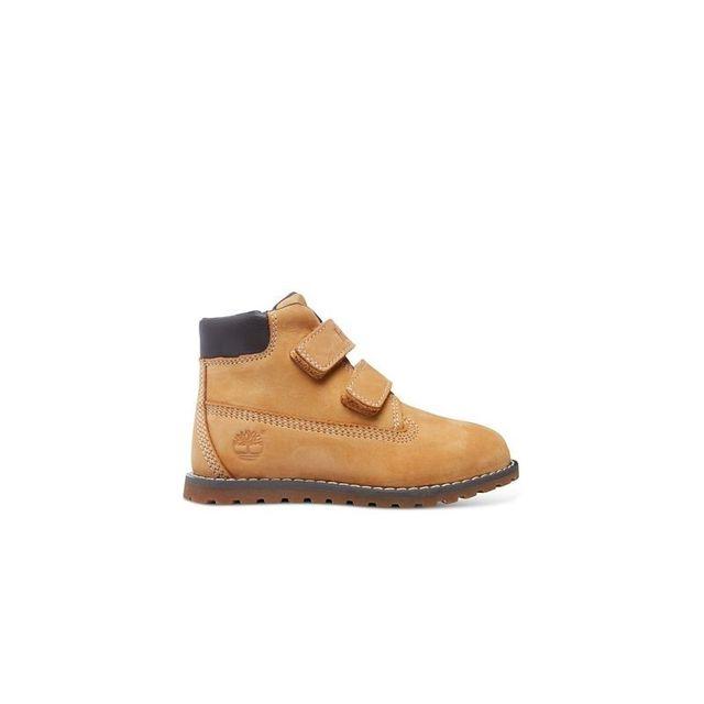 Timberland - pokey pine hook-et-loop petit enfant wheat-jaune - pas cher  Achat   Vente Boots femme - RueDuCommerce e17c83c00aa1