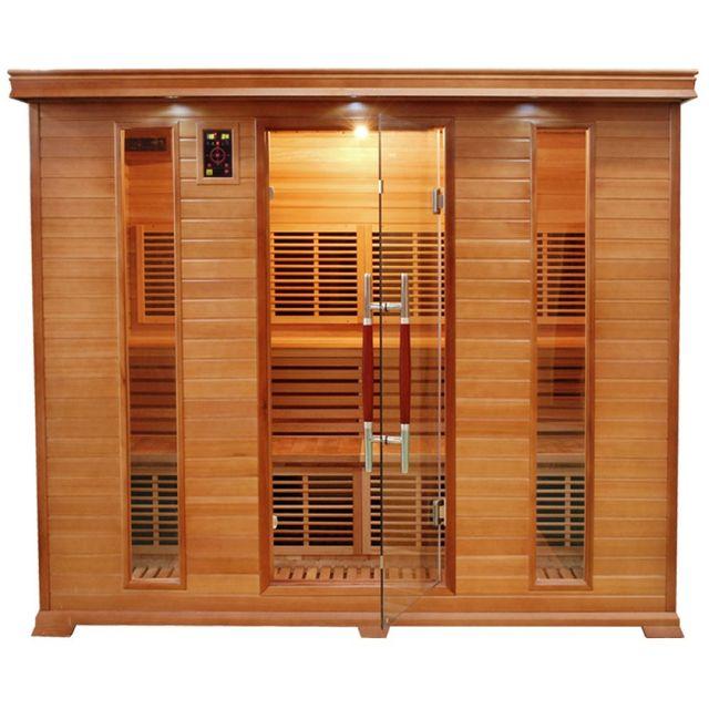 France sauna sauna infrarouge luxe 5 pas cher achat - Avis sauna infrarouge ...