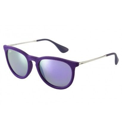 237d557b4d365c Ray-Ban - Lunette de soleil Erika Color Mix rb4171 60804V Violet ...