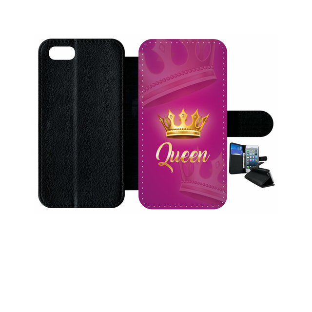 coque iphone 8 queen rose