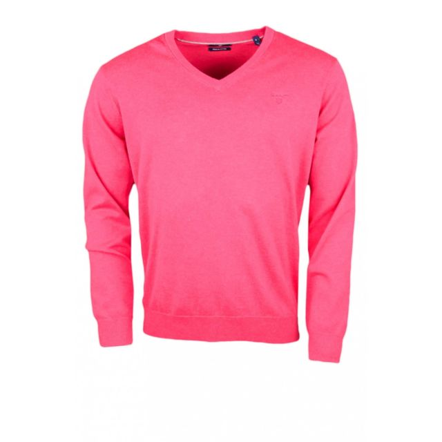 Pull Rose Achat Homme Pour Gant Cher Col V Pas Rouge Fushia RqWdZwgZa