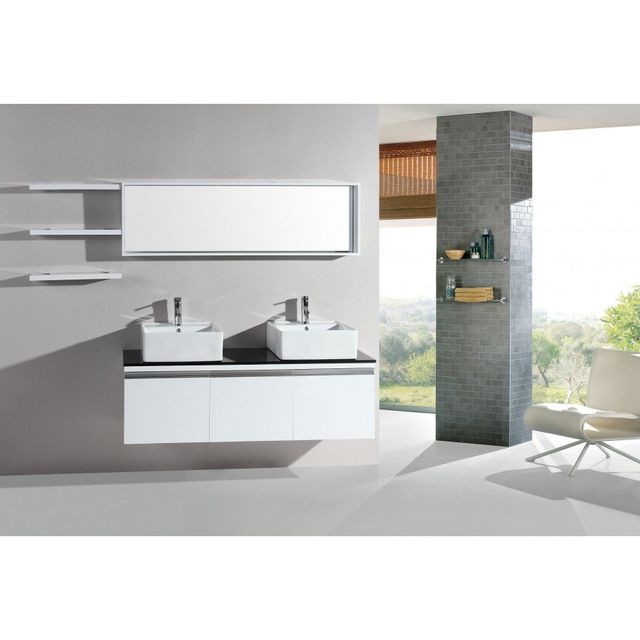 Rocambolesk - Magnifique ensemble meuble salle de bain complet ...