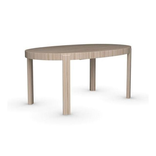 Inside 75 table repas extensible ovale atelier 170x100 en for Html table inside table
