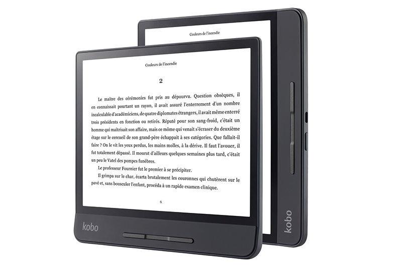 Liseuse numérique Forma 8'' noire