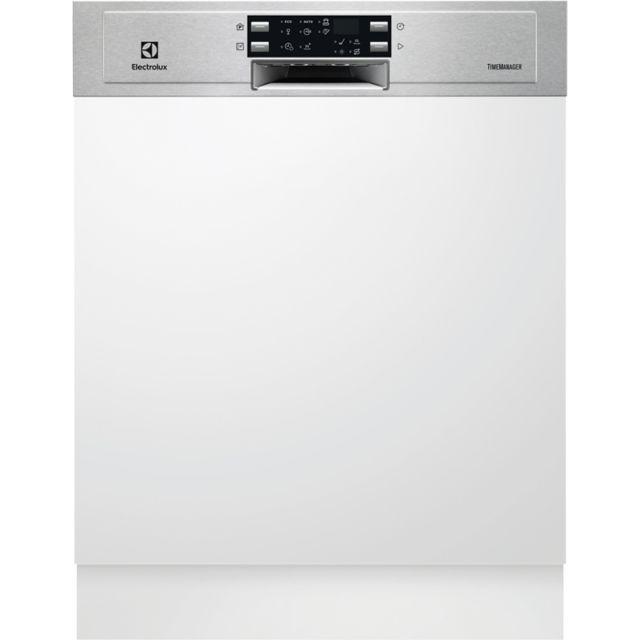ELECTROLUX lave-vaisselle 60cm 13c 45db a+ intégrable avec bandeau inox - esi5533lox