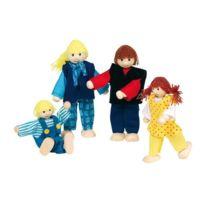 Goki - 51955 - Mini-poupÉE ArticulÉE - Famille Moderne