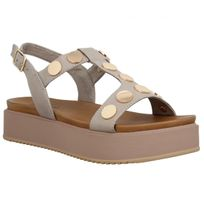 Inuovo - 7282 cuir Femme-41-Gris