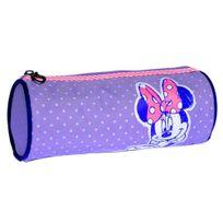 Minnie - Disney - Trousse Fourre Tout - Collection Pois - Violet