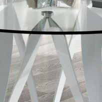 Table Ronde Verre Design Catalogue 2019 Rueducommerce Carrefour