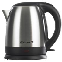 Brandt - bouilloire sans fil 1.2l 2200w inox - bo1215x