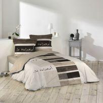 housse de couette bambou achat housse de couette bambou pas cher soldes rueducommerce. Black Bedroom Furniture Sets. Home Design Ideas