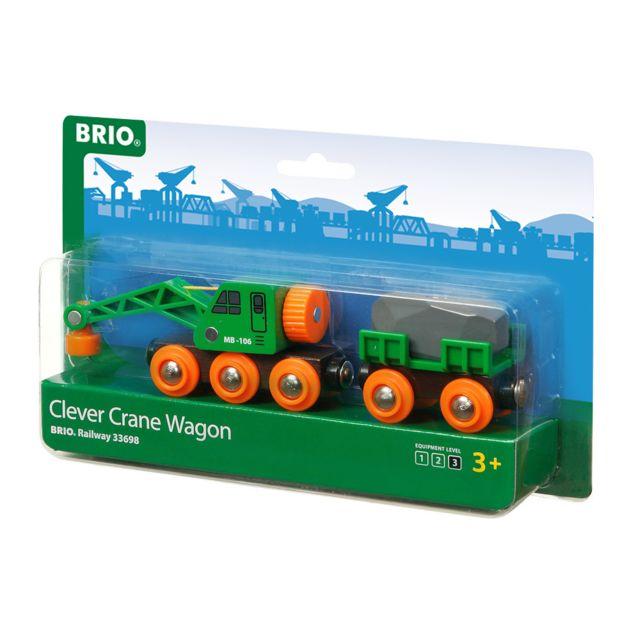BRIO Wagon grue ingénieux - 33698