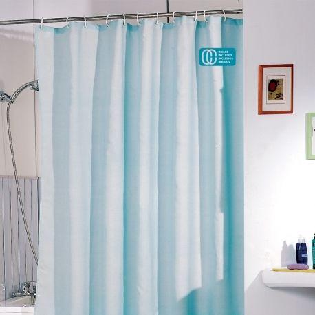 msv rideau de douche polyester 120x200 bleu pas cher achat vente rideaux douche. Black Bedroom Furniture Sets. Home Design Ideas