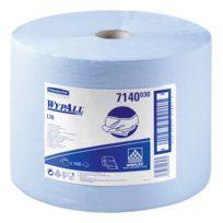 Kimberly Clark - Bobine essuyage industriel Wypal 570 m bleue