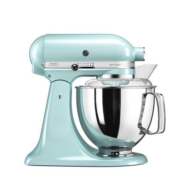Kitchenaid - Robot pâtissier multifonctions Artisan Bleu Glacier