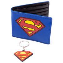 Bioworld Merchandising - Portefeuilles - Superman pack combo porte-monnaie & porte-clés