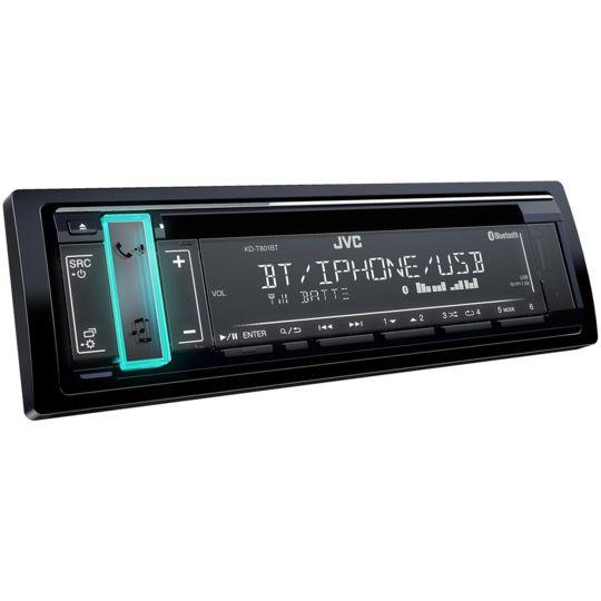 Autoradio Bluetooth 1 Din - KD-T801BT - Noir
