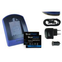 mtb more energy® - 2 Batteries + Chargeur USB, Dmw-bcn10 pour Panasonic Lumix Dmc-lf1