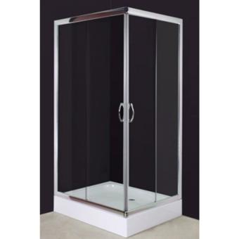 Vidaxl - Cabine douche rectangulaire 100 x 80 cm
