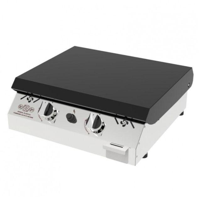 euskal plantxa plancha inox gaz 2 feux plaque de cuisson inox 4mm garantie vie avec. Black Bedroom Furniture Sets. Home Design Ideas