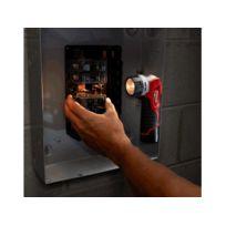 Milwaukee - Lampe torche sans fil 160 Lumen 12V Li-Ion livrée sans batterie ni chargeur en carton M12 Tled-0 4932430360