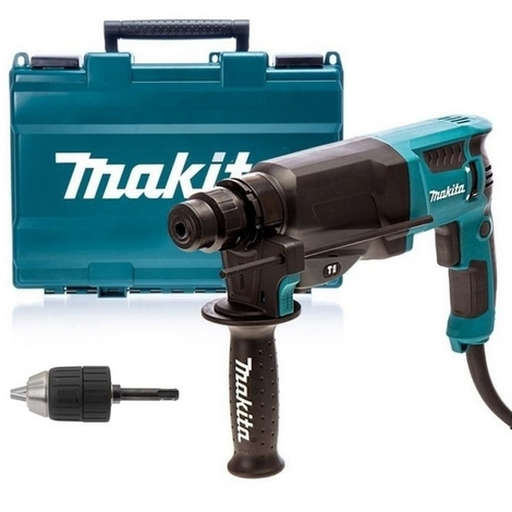 makita perforateur burineur sds plus 800w 26mm hr2630x7. Black Bedroom Furniture Sets. Home Design Ideas