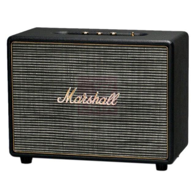 MARSHALL - Enceinte Bluetooth noire - Woburn