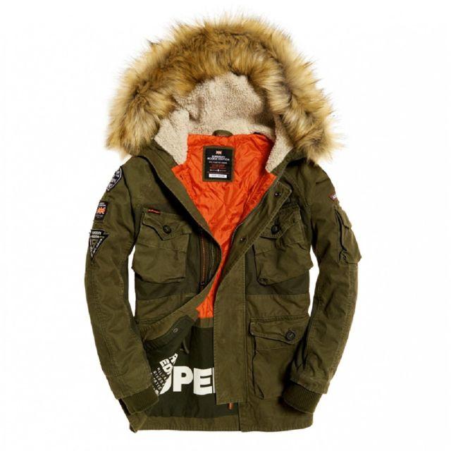 manteau mi saison homme superdry