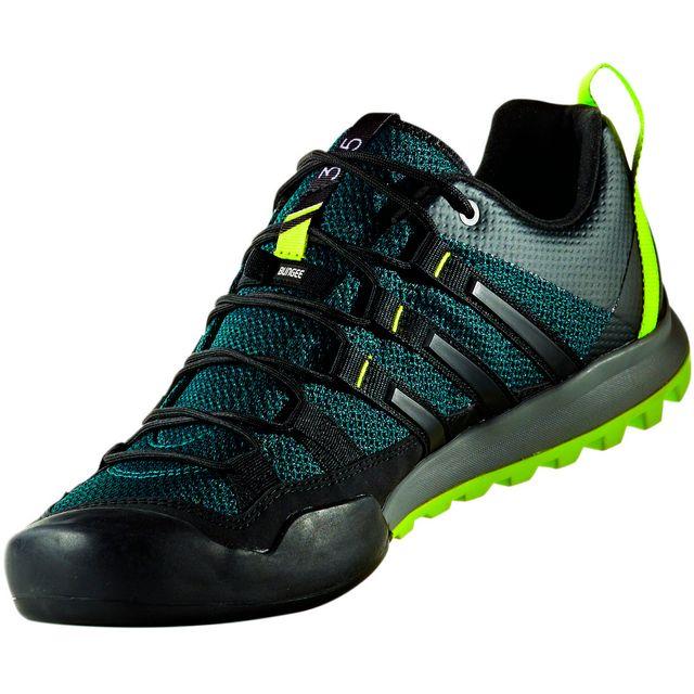 Adidas Terrex Solo Chaussures vertnoir pas cher