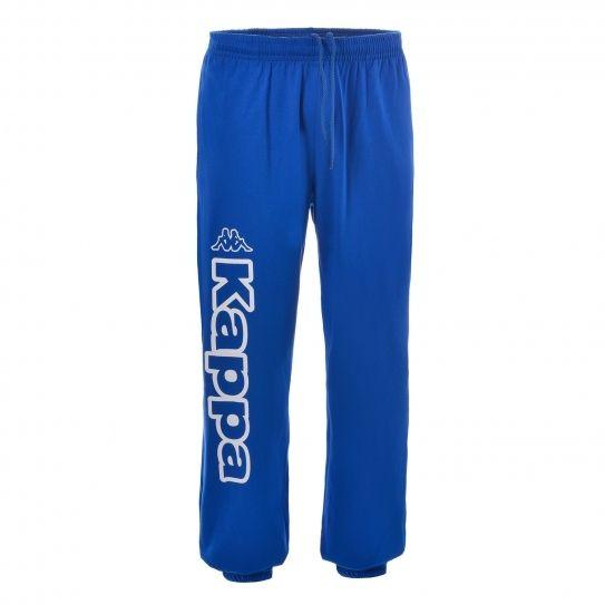 Kappa - Pantalon Sport Homme Costo Molleton 915 Nautic Blue WHITE - Kappa 74ad39c38bbb