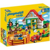 Playmobil - 1.2.3. 5058 Coffret Maison Forestiere