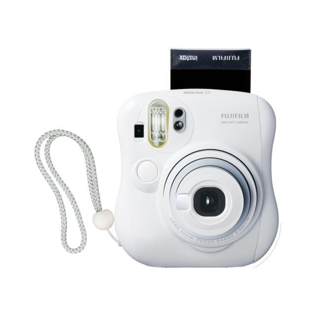 FUJI INSTAX Mini 25 - Blanc