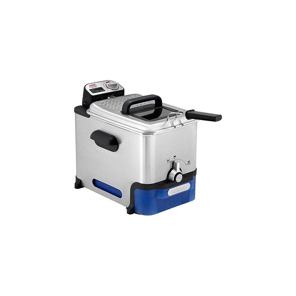 SEB Friteuse Oleoclean FR804000 Friteuse Oleoclean Pro Inox & DesignUn modèle semi-professionnel à filtration automatique Avec système de filtration automatique Oilbox