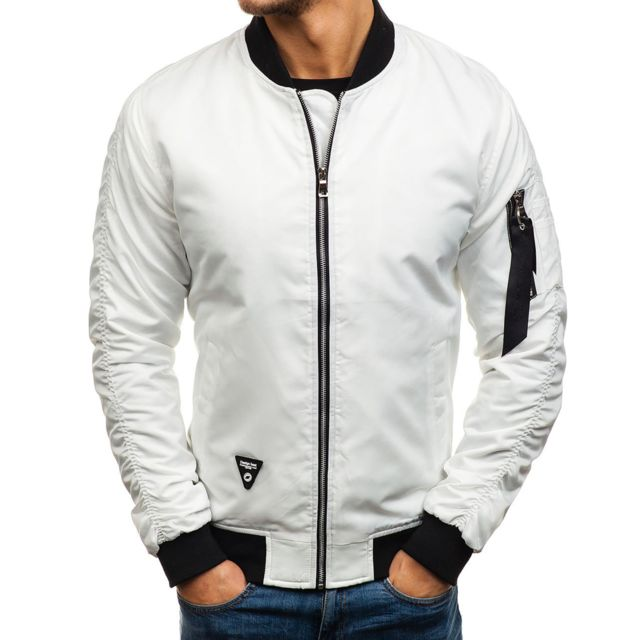sells factory authentic release date Bomber fashion pour homme Bomber M432 blanc
